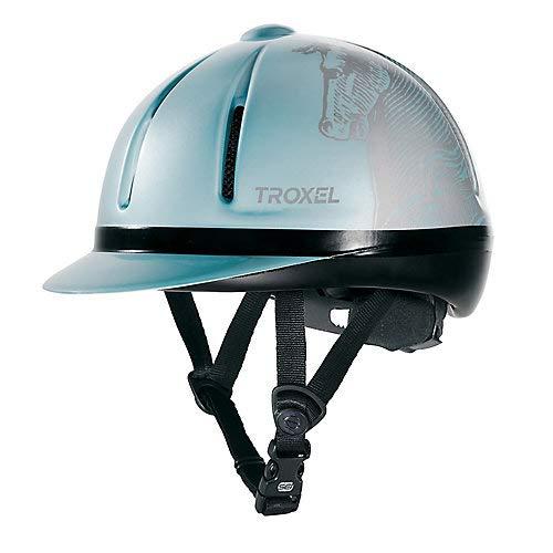 Troxel Legacy Schooling Helmet Medium Sky Antiquus