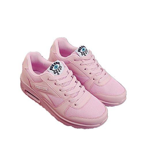 de Ocasionales nuevos Verano Deportivos Zapatos Estudiantes powder Planos Correr y Deportivos para de Mujer Primavera Zapatos Hasag light Zapatos Zapatos para B aqSwfw50