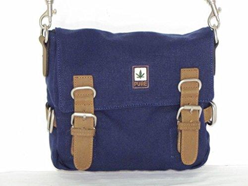 Borsa a tracolla canapa HF029blu cintura tasche/Kombi PURE