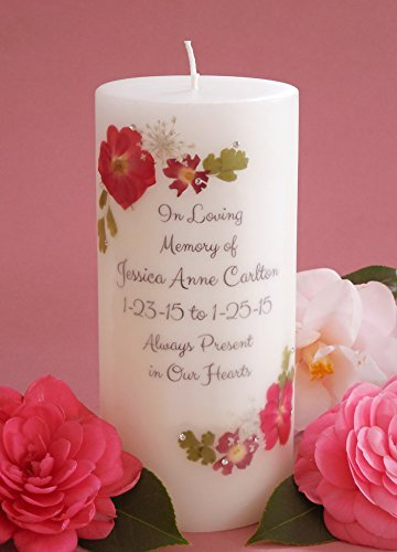 (Red Rose Personalized 3x6 Memorial)