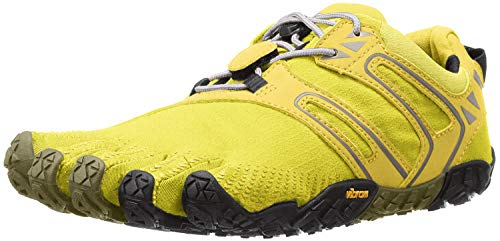 Vibram Women's V Trail Runner, Yellow/black, 39 EU/8-8.5 M US