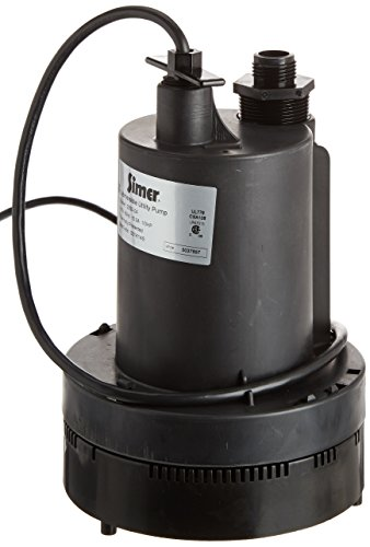 Simer 2355 1/3 HP Submersible Utility Pump