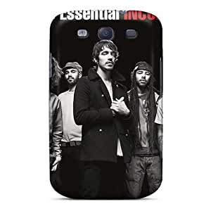 Scratch Resistant Cell-phone Hard Cover For Samsung Galaxy S3 With Customized HD Incubus Band Image Marycase88
