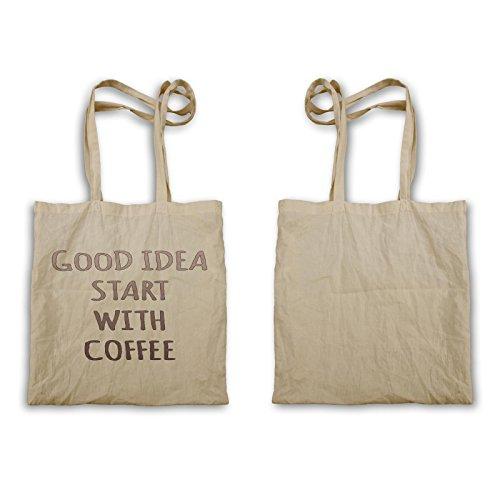 Idee Kaffee Lustig Neu Positiv Gut Inspirieren Tragetasche d120r