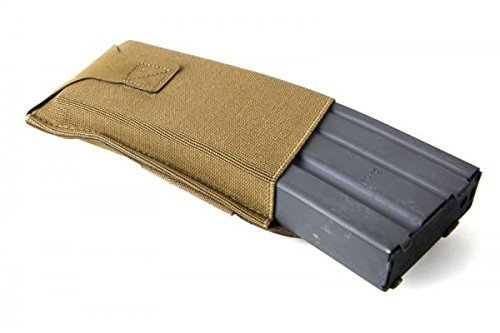 Blue Force Gear Belt Mounted, Low Position Ten-Speed M4 Magazine Pouch with Adjustable Belt Loop Coyote Brown (BT-TSP-M4-LM-CB)