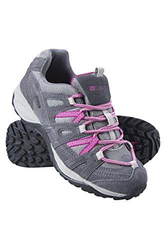 Chaussures la chaussures confortables Chaussures Idéales femmes femmes les rembourrées Warehouse Mountain Direction marche saisons pour pour toutes Gris treks imperméables pour amp; Foncé randonnée la aq056wv