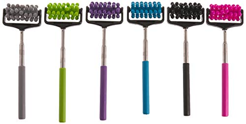 SE Assorted Color Seven Ring Roller Massagers (12 PC.)