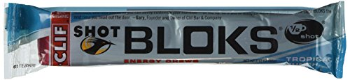 Clifbar Clif Shot Bloks Tropical Punch W/Caffeine, One Size