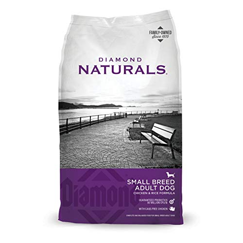 (Diamond Naturals Small Breed Dog Real Chicken Recipe Premium Dry Dog food)