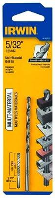 Irwin Tools 4935106 5/32-Inch Multi Material Drill Bit