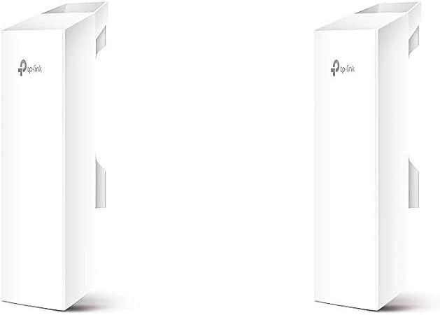 TP-LINK CPE510 - Punto de Acceso inalámbrico/CPE de Exterior a 5.0 GHz 300 Mbps 13 dBi + CPE210 - CPE de Exterior de 9dBi en 2.4GHz a 300Mbps, 5km+ ...