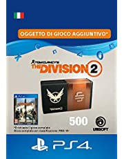 Pacchetto Valuta premium 500 per Tom Clancy's The Division 2  - 500 Credits DLC | PS4 Download Code - IT Account