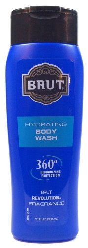 Price comparison product image Brut Hydrating Body Wash 360 Degree Deodorizing Protection Brut Revolution Fragrance 13 Oz. (1 Each)