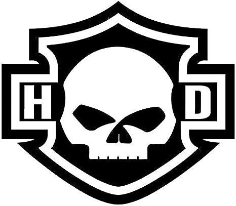 Stickers pour Casque r/étro r/éfl/échissant Harley Davidson cr/âne