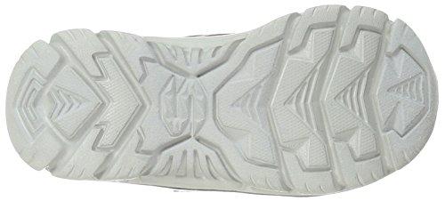 Skechers Girl Nitrate Sneaker, Carboncino / Nero Rosso / Nero