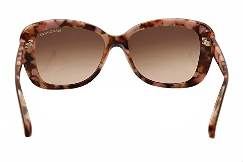 Guess by Marciano - GM0711, Oversize, acétate, femme, DARK BROWN ROSE HAVANA/LIGHT BROWN SHADED(E34 A), 54/15/0