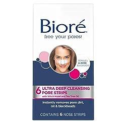 Bioré Ultra Deep Cleansing Pore Strips (6 Count)