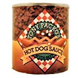 Tony Packo's Hot Dog Sauce with Beef, 7.5 Ounce (Pack of 12)