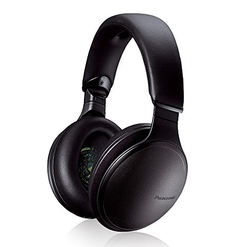 Panasonic Premium Hi-Res Wireless Headphones – Noise Cancelling Bluetooth Over the Ear Headphone, Black (RP-HD605N-K)