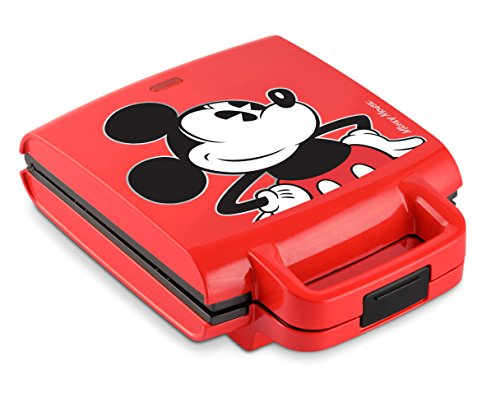 Disney DCM-41 Classic Mickey Waffle Stick Maker, Red