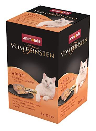 animonda Vom Feinsten Adult Katzenfutter, Nassfutter für ausgewachsene Katzen