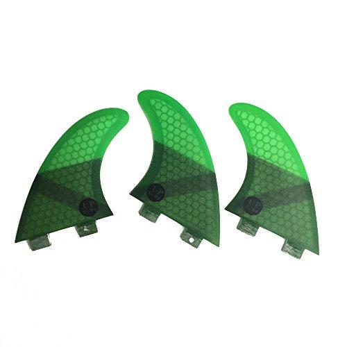 UPSURF Core Carbon Surboard Fins G5 Medium Size FCS