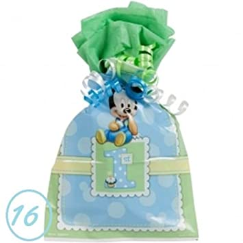 Amazon 16 Baby Mickey Mouse Favor Goody Bags First 1st Birthday Treat Loot Party Supply