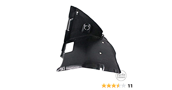 Trade Vehicle Parts BM1700 Front Wing Front Section Arch Liner Splash Guard Driver Side Compatible With 3 E46 1998-2005
