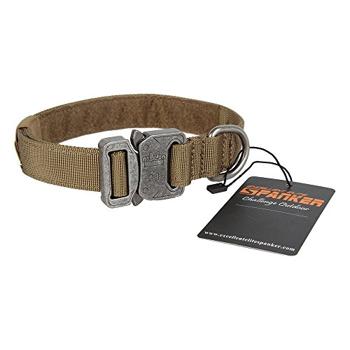 Grey 4ft OneTigris Tactical Dog Training Bungee Leash with Two Control Handle Quick Release Strong Nylon Leads Rope