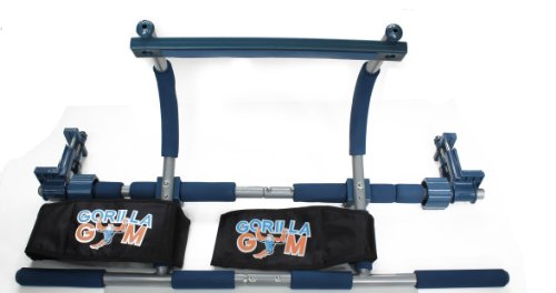 Gorilla Gym Gym1 Power Fitness Package (Pull Up Bar, Pullup Extender, and Ab Straps)