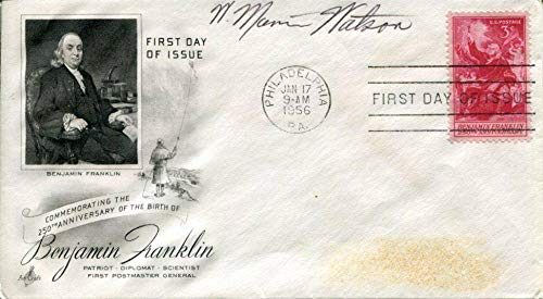 (W. Marvin Watson Postmaster General White House Chief Staff Signed Autograph FDC)