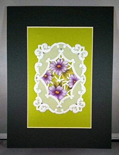 Gerbera Daisies Parchment Design -