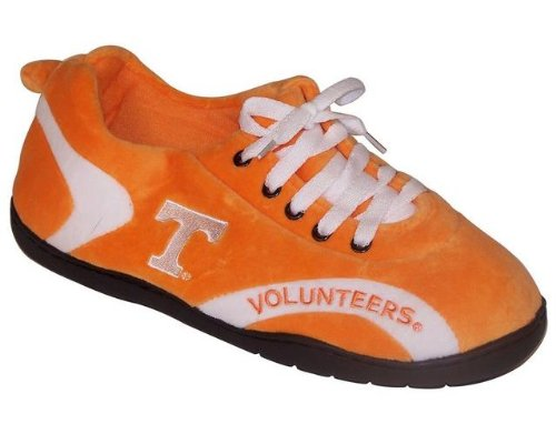 Happy Feet Mens and Womens NCAA College All Around Slippers Tennessee Volunteers GitaTg