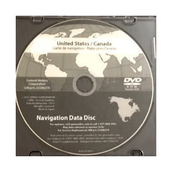 North america map dvd mmi version 11