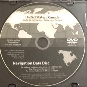 Amazon.com: GM Chevrolet Corvette 2016 Navigation DVD Map Update GM ...