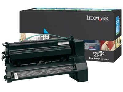 (Lexmark Print Cartridge - Cyan - 10000 Pages - C780/C782 - By