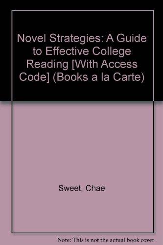 Novel Strategies, Books a la Carte Plus MyReadingLab with eText -- Access Card Package