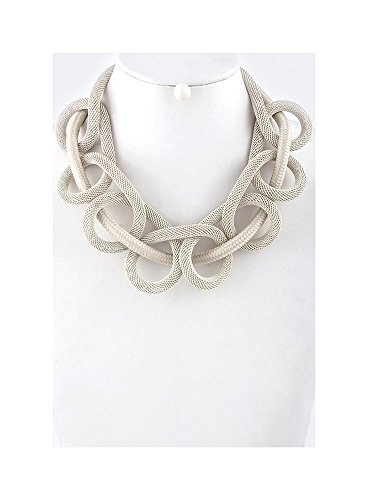 Woven Mesh Chain (Woven Mesh Chain Cord Necklace Set)