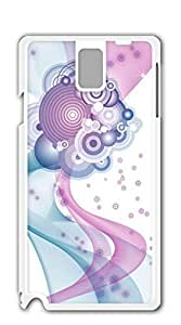 Hard Case Back Custom PC case for samsung galaxy note 3 for girls - Fire red flowers