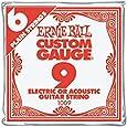 Ernie Ball Nickel Plain Single Guitar String .009 6-Pack