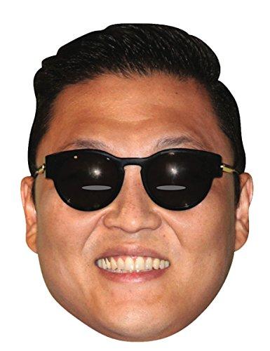 Psy Gangnam Style Celebrity Cardboard Mask - Single (Gangnam Style Costume)
