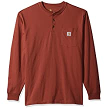 Carhartt Men's Workwear Pocket Long Sleeve Henley