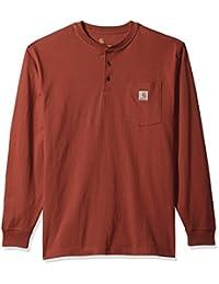 Men's Workwear Pocket Long Sleeve Henley