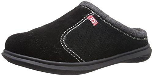 Mens Supreme Shoe (Spenco Men's Supreme Slide Slipper, Black, 8 M Medium US)
