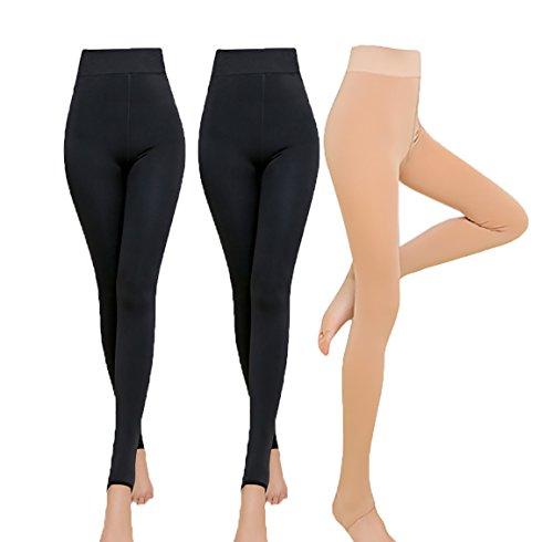 Khaki Stretch Tights - 5