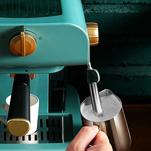 XUHRA Machine À Expresso Cafetière 20 Bars De Machine À Café Et Cappuccino À Pression avec Bras De Moussage De Lait Expresso Et Filtre Idéal pour La Maison Et Le Bureau