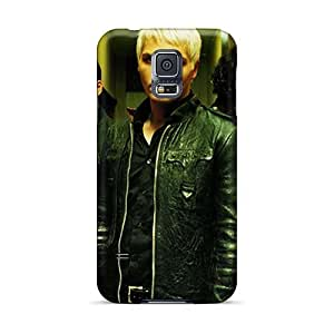 Durable Hard Phone Cover For Samsung Galaxy S5 With Unique Design Fashion My Chemical Romance Band Series JasonPelletier