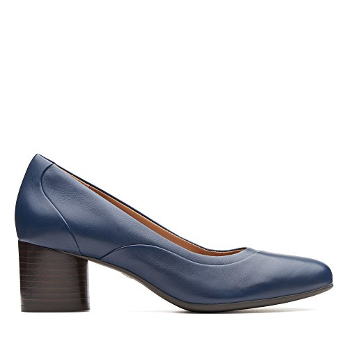 Escarpins navy Step Leather Un Navy Femme Bleu Clarks Cosmo Leather HfvwFcq