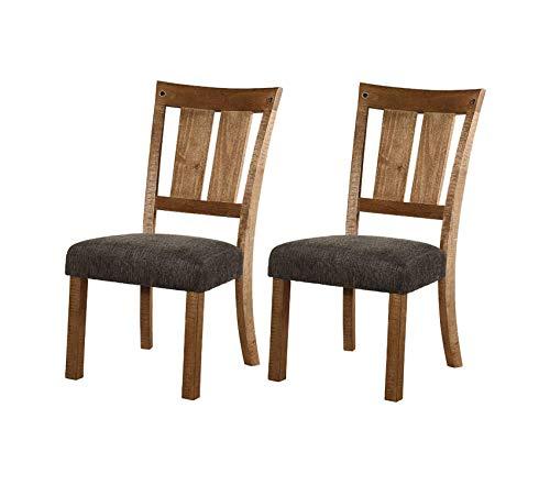 Premium Tamilo Counter Height Bar Stool, Set of 2, Dark Brown Adirondack Chair Coat Bar