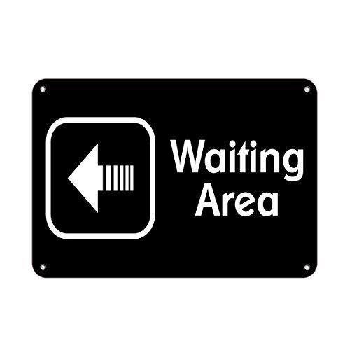 Área de espera flecha izquierda negocios función ...